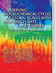 oBseRVINg BIogeoChemICal CyCles at gloBal sCales WIth ... - OCB