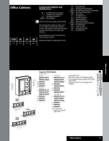 Kraftmaid 031 Office Cabinets - Roberts Company, Inc.