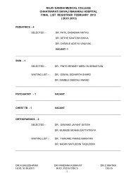 FEBRUARY 2013 - Final List Registrar
