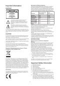LCD TV User Manual - ELV - Page 3