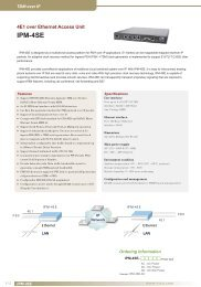 IPM-4SE - CTC Union Technologies Co.,Ltd.