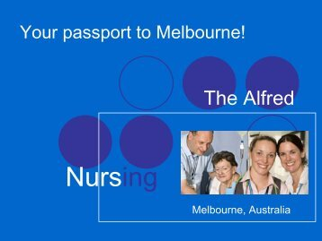 Your passport to Melbourne! - Alfred Hospital