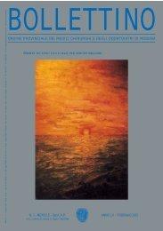 Febbraio 2003 (pdf - 816 KB) - Ordine Provinciale dei Medici ...