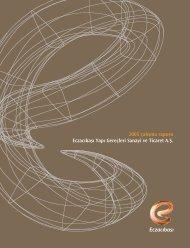 2005 çal›flma raporu Eczac›bafl› Yap› Gereçleri Sanayi ve Ticaret A.fi.