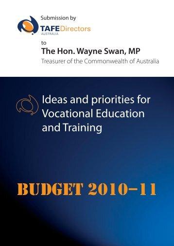 A blueprint for australias tertiary education sector tafe here tafe directors australia malvernweather Images
