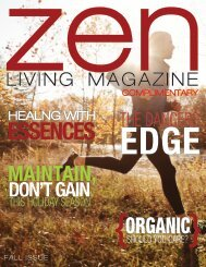 Zen Living Magazine Fall Issue