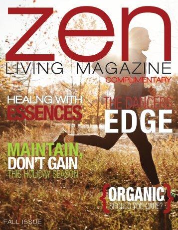 Zen Living Magazine Fall Issue