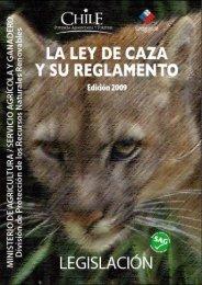 Legislación Fauna_nov07.indd - Aves de Chile