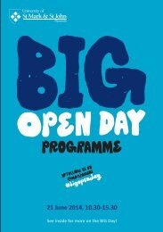 BIG-Open-Day-Programme