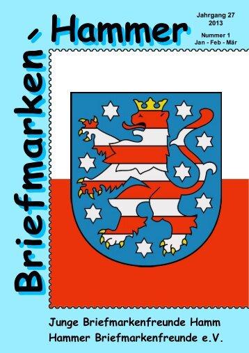 Briefmarken-Hammer - Briefmarkenjugend Hamm