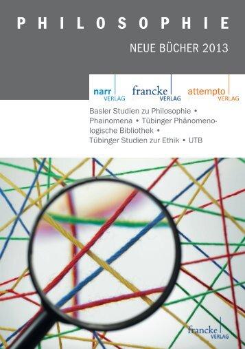 Philosophie 2013 - Narr.de