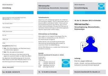 to get the file - Deutsche Gesellschaft für Akustik eV