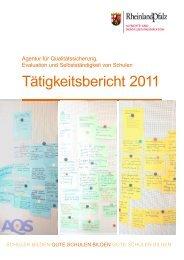 Tätigkeitsbericht 2011 - in Rheinland-Pfalz
