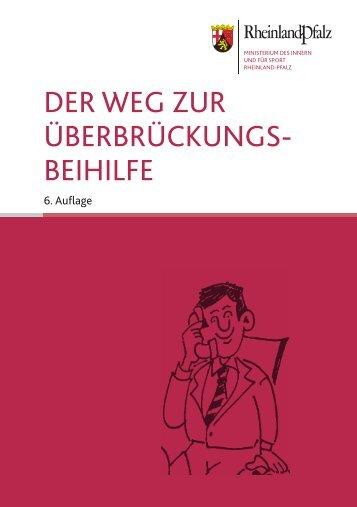 DER WEG ZUR ÜBERBRÜCKUNGS- BEIHILFE - Aufsichts