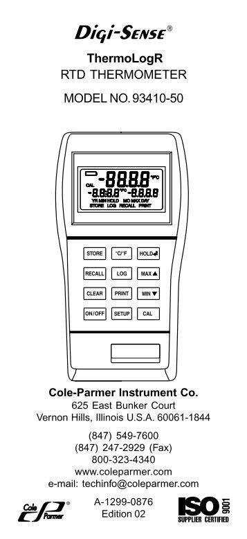 Digital Reactor Block 200 (DRB 200) Instrument Manual