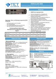 HERCULES 2500 - Günter Dienstleistungen GmbH