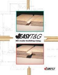 EASY T&G - Canadian Plywood Association