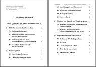 Vorlesung Statistik II - WiWi Fakultät