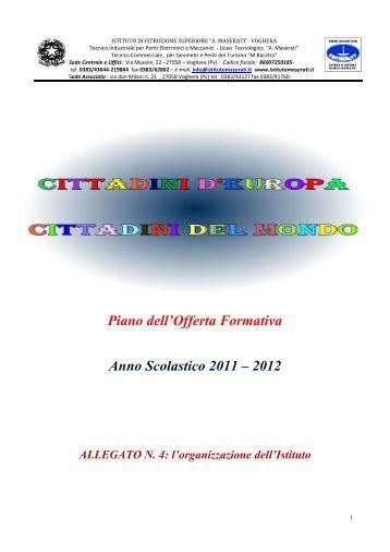 Piano dell'Offerta Formativa Anno Scolastico 2011 – 2012 - Istituto ...