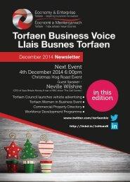 Torfaen Business Voice December 2014