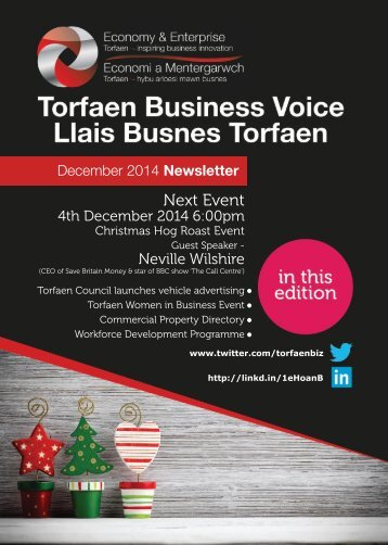 Torfaen Business Voice December 2014
