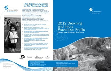 2012 Drowning and Injury Prevention Profile - Lifesaving Society
