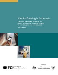 Mobile Banking in Indonesia - TRPC