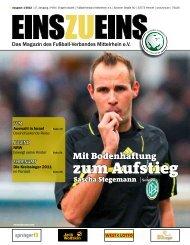 Liebe Fußballfreunde - Fußball-Verband Mittelrhein e.v.
