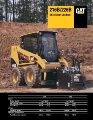 LOADER TO TRACTOR CHART - Alamo - SMC