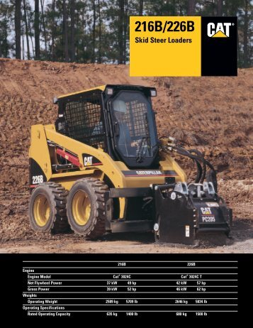 216B/226B Skid Steer Loaders - AEHQ5564 - Kelly Tractor