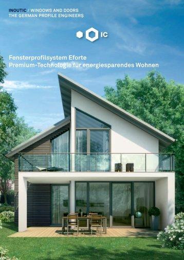 Fensterprofilsystem Eforte Premium-Technologie für ... - Inoutic