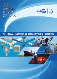 Annual Report FY2011 - Sujana Group