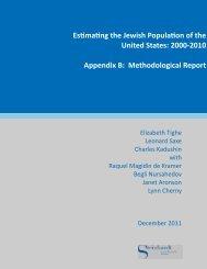 Methodological Report