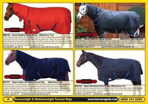 Horse Blankets & Sheets Horseware Rambo