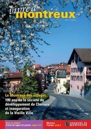 Le Montreux des villages - Commune de Montreux