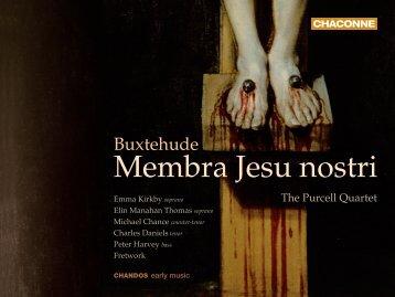 Buxtehude's 'Membra Jesu nostri' - Chandos