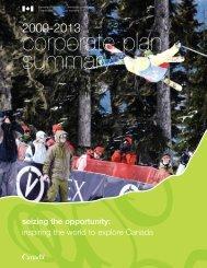 inspiring the world to explore Canada - Canadian Tourism ...