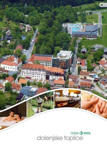 Depliant dell' albergo - Terme Krka