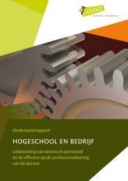 hOgeschOOl en bedrijf - Zestor