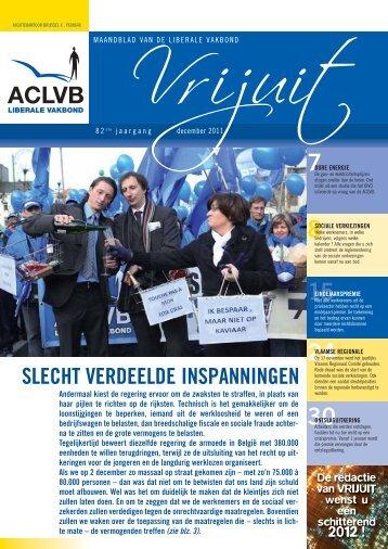 Vrijuit - editie december 2011 - Aclvb