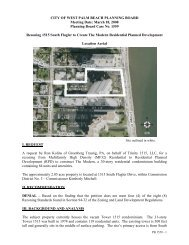 Planning Board Case No. 1559 - City of West Palm Beach