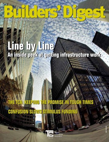 Line by Line Line by Line - Toronto Construction Association
