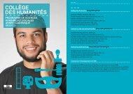 Brochure CDH-SHS 2012-2013 - EPFL