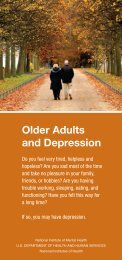 Older Adults and Depression - NIMH - National Institutes of Health