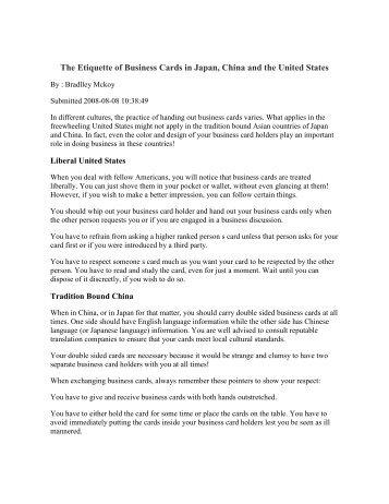 Business Communication Etiquette China And Uk Emita