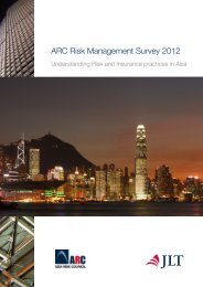 ARC Risk Management Survey 2012 - JLT Group