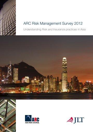 ARC Risk Management Survey 2012 - JLT Group