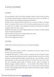 IL SALTO IN ALTO lezione corso istruttori - Fidal Piemonte