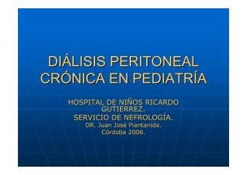 DIÁLISIS PERITONEAL CRÓNICA EN PEDIATRÍA