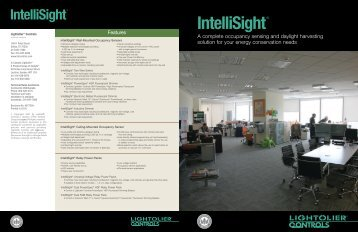 IntelliSight® - Philips Lighting Controls